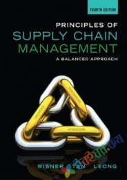 Principles of Supply Chain Management A Balanced Approach (White Print) (eco)