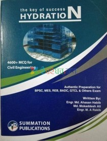 The Key of Success Hydration (4600+ Mcq for Civil Engineering)