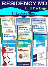 Genesis Lecture Sheet MD Residency/Diploma Full Package (31 Sheet)