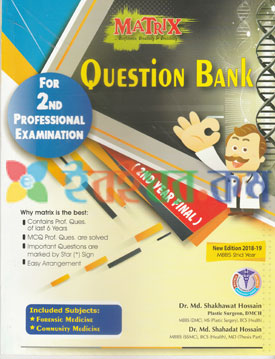 Matrix Question Bank For 2nd Professional Examination
