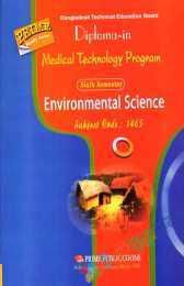 Environmental Science (6th Semester)