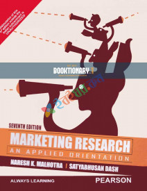 Marketing Research An Applied Orientation (eco)