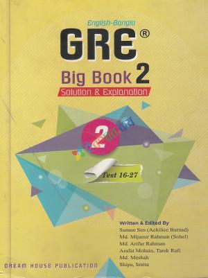 GRE Big Book-2 Solution & Explanation