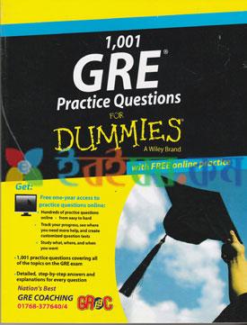 1001 GRE Practice Questions DUMMIES (eco)