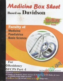 Matrix Medicine Box Sheet Based on Davidson