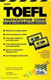 Cliffs TOEFL Preparation Guide (White Print)