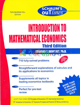 Schaum's Out Lines Introduction to Mathematical Economics (eco)