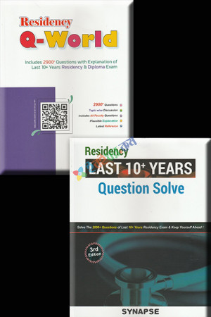 Synapse Residency Last 10 Years Question Solve + Residency Q World