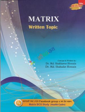 Matrix Written Topic