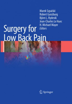 Surgery for Low Back Pain (Color)