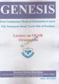 Genesis Lecture On OGSB Live Seminar For Fcps Part- 2 (Obs & Gynae) Volume 1&2