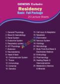 Genesis Lecture Sheet Residency Basic Full Package (25 Sheet)